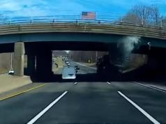 nehoda-kamion-most-video