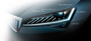 Inovativní technologie osvětlení zajišťuje přepracovanému modelu ŠKODA SUPERB maximální bezpečnost