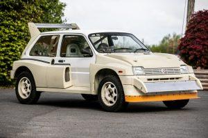 Na prodej bude skvělý rallye speciál MG Metro 6R4. Je skoro jako nový