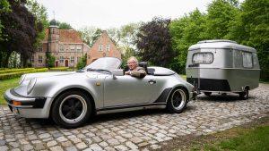Absolutní dokonalost! Vzácné Porsche 911 a stylový karavan