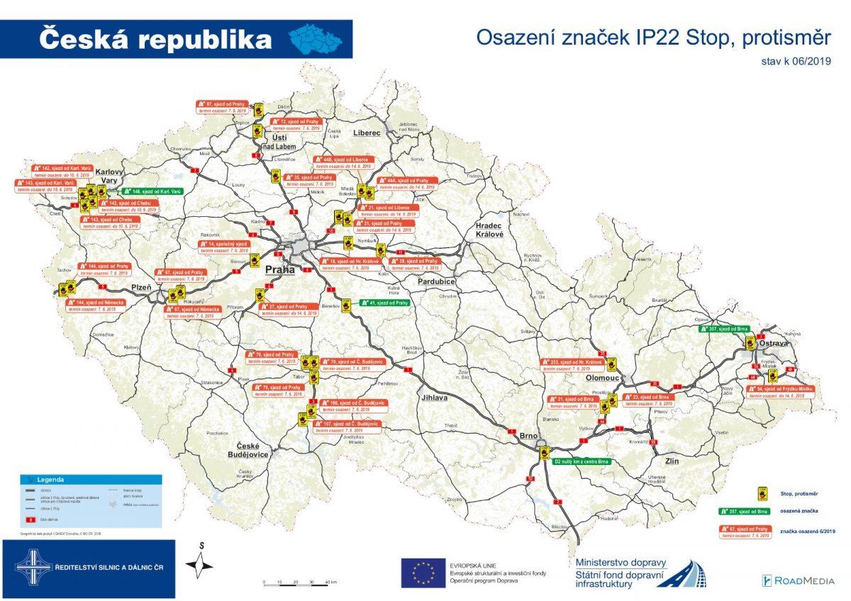 mapa-značka-stop-dalnice