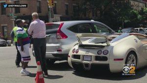 Známý komik naboural své Bugatti jen pár minut poté, co ho koupil