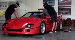 Ferrari F40 detailing
