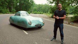 Chris Harris osedlal vůbec první Porsche. A byl nadšen!