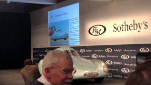 Z aukce ikonického Porsche Type 64 se stala fraška. Neprodalo se