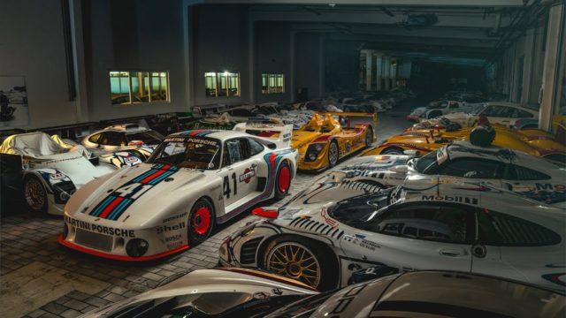 Depozitář Porsche muzea ukrývá opravdové skvosty. Je tu na 450 aut