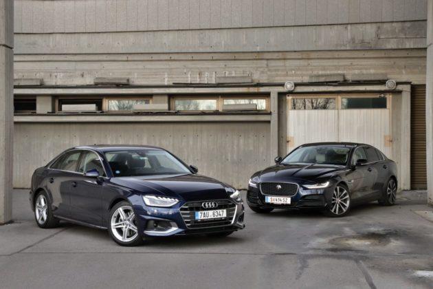 test-2019-Audi-A4-35-TDI-a-Jaguar-XE-D180-AWD- (1)