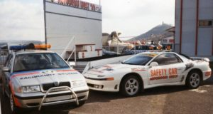 skoda-octavia-combi-rescue-car-mitsubishi-3000gt-safety-car-historie