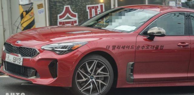 Kia_Stinger_GT-facelift-spy-foto-thekoreancarblog- (2)
