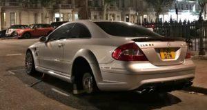 Mercedes-Benz_CLK_63_AMG_Black_Series_Coupe-ukradena_kola-Londyn