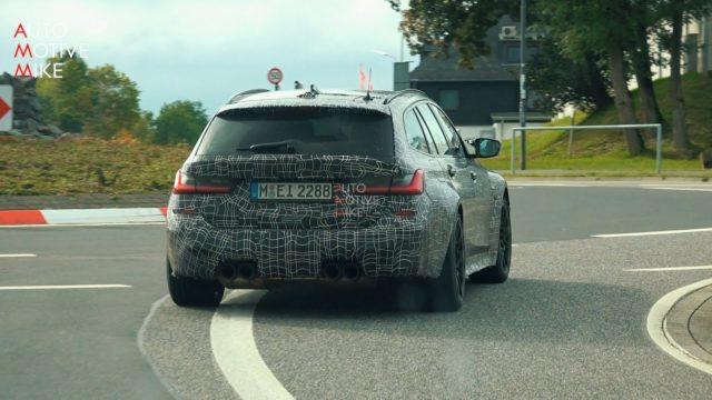 BMM M3 Touring přistiženo u Nürburgringu. Automobilka důkladně testuje